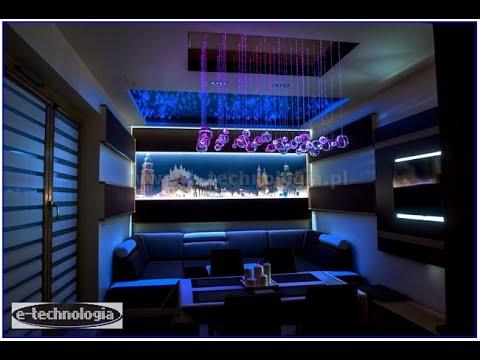 Lampy nowoczesne , Lampy nowoczesne LED, Żyrandole Światlowodowe E-TECHNOLOGIA , nowoczesne lampy producent