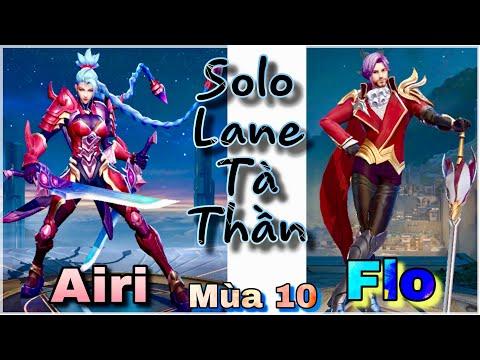 Liên Quân Mobile | AIRI mùa 10 | Hướng dẫn cách solo FLORENTINO với Ngọc + Đồ rất mạnh! - Thời lượng: 15 phút.