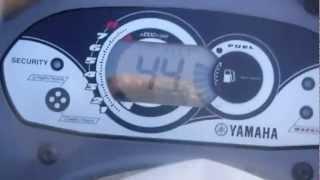 8. Darin test the Yamaha vx cruisers top speed on Lake Wateree 2012