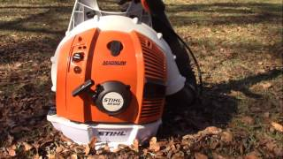 2. lets take a look at my  Stihl br600 backpack blower
