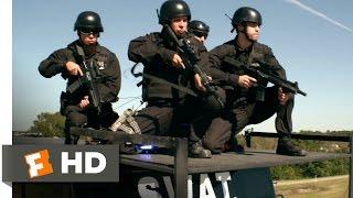 Heist (2015) - SWAT Assaults the Bus Scene (6/10) | Movieclips