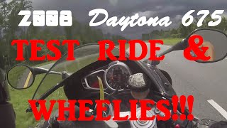 7. 2008 Daytona 675 test ride/// New outro!