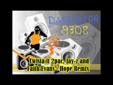 Twista Ft 2pac, Jay Z And Faith Evans - Hope Remix