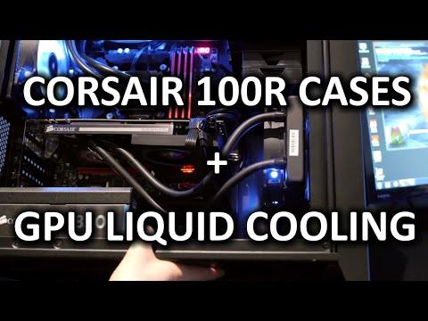 Corsair Carbide 100R & Silent Version + HG10 GPU Water Cooler – CES 2015