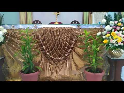 Mother Mary Feast  St.Anthony Church Altar Decor(4)