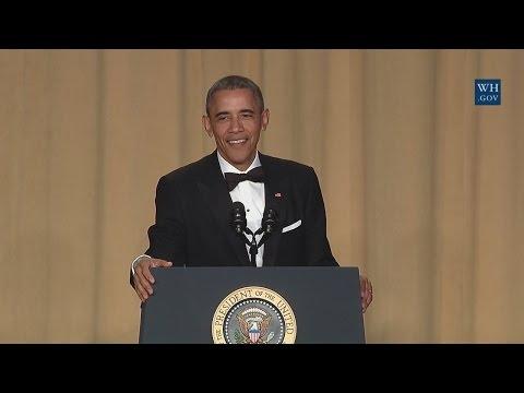 Obama Speaks at the White House Correspondents Dinner