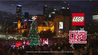 LEGO® Time-Lapse: Melbourne Builds a LEGO® Christmas!