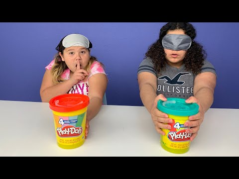 Play doh - GIANT Play-Doh SLIME Switch Up Challenge