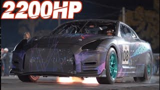 Mother Pilots 2200HP GTR and Son Cuts Perfect .000 Reaction Time (First Time Drag Racing!) by  That Racing Channel