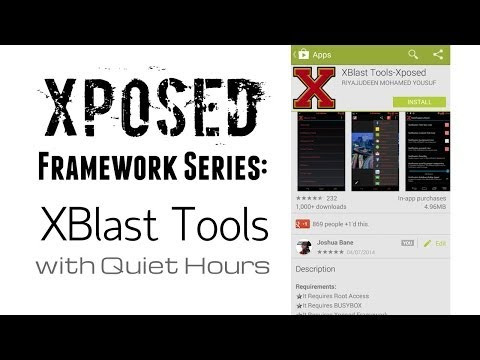Video of XBlast Tools-Xposed
