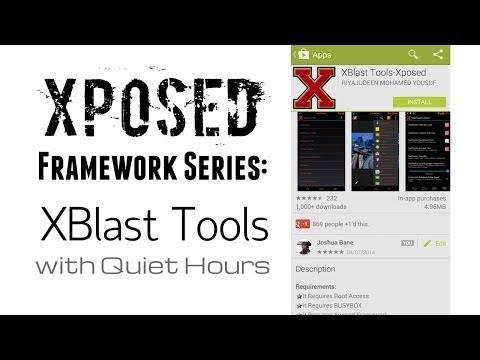 Video of XBlast Tools-Xposed