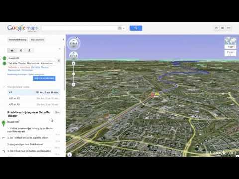 Helikoptervlucht Google Maps