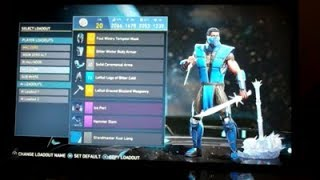 So this is just a video showing my gear sets, loadouts for my  main characters in Injustice 2. Green Lantern, Superman, Sub-Zero and Deadshot. Enjoy!