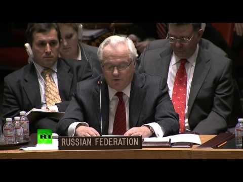 Виталий Чуркин отчитал постпреда США при ООН - DomaVideo.Ru