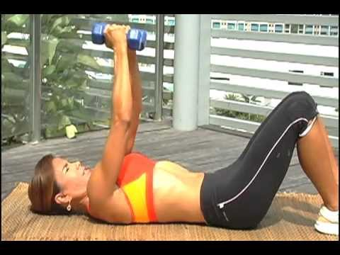 DyanFit 10-Minute Workout for Toned Chest and Back