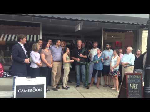 Cameroon Cigars Ribbon Cutting