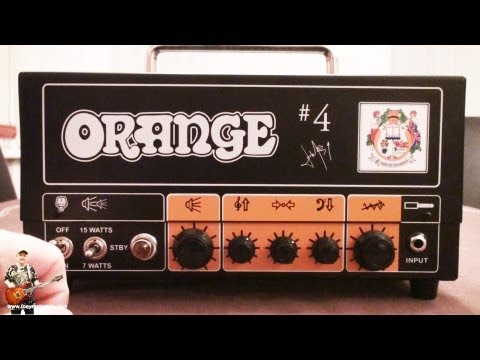 Orange terror review Jim Root #4 amplifier inside and out reviewed and played: tonymckenzie.com