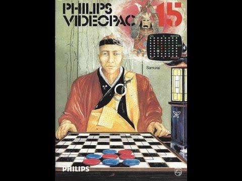 Nr. 15 Samurai | Philips Spielekonsolen | G7000 / G7400 / Videopac / Videopac+