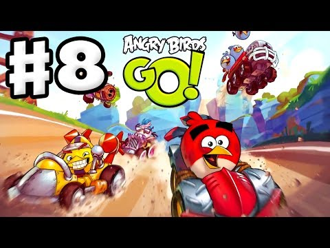 angry - Thanks for every Like and Favorite! They really help! Angry Birds Go Gameplay Part 8 contains some 3 star completions and Angry Birds hints for the Rocky Roa...