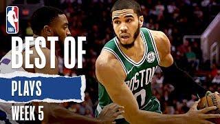 NBA's Best Plays From Week 5   2019-20 Season
