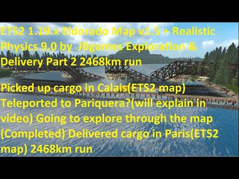 Eldorado Map v1.5 + Realistic Physics 9.0 by JBgames