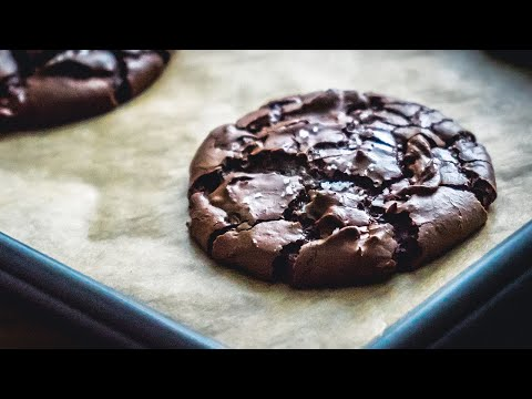 Fudgy Chocolate Brownie Cookies Recipe | BAKEN