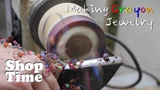 Making Crayon Jewelry