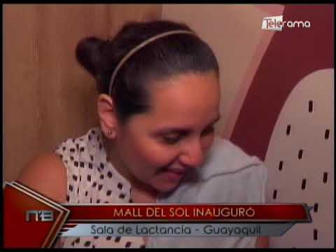 Mall del Sol inauguró sala de lactancia - Guayaquil