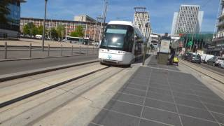 Weird and interesting Tram-Bus north of Paris