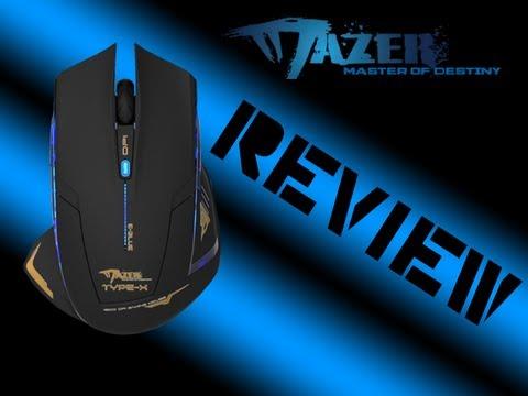 Mazer Type-R E-Blue 2500 DPI Mouse Review