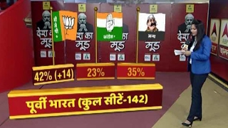 Video #देशकामूड : ABP News- CSDS Survey: NDA likely to gain 14 seats in East MP3, 3GP, MP4, WEBM, AVI, FLV Juli 2018