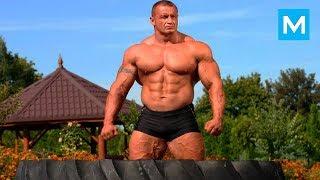 Tak trenuje 40-letni Mariusz Pudzianowski