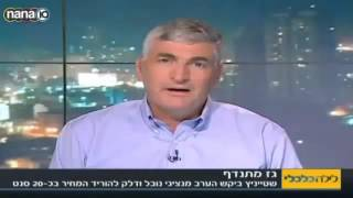 Yigal Landau in Lyla Calcali, channel 10 (Hebrew)