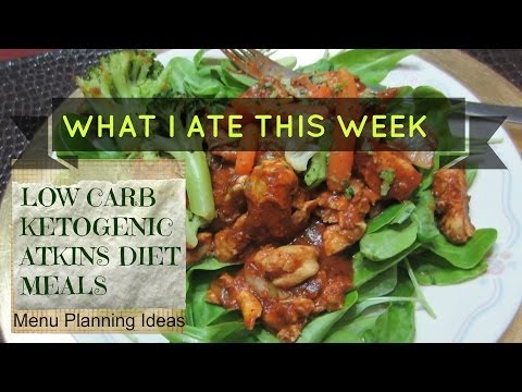 LOW CARB KETOGENIC DIET MEALS – Weight Loss Update