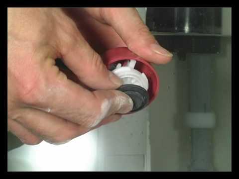 WC-istuin vuotaa, vianselvitys (st -/dt -ventiili)