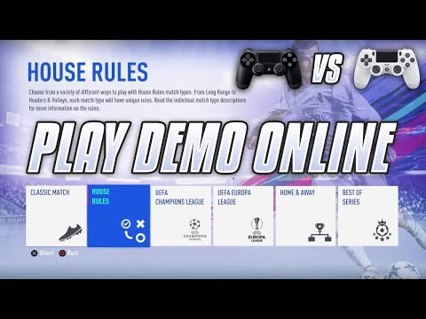 FIFA 19 Demo Play ONLINE/MULTIPLAYER