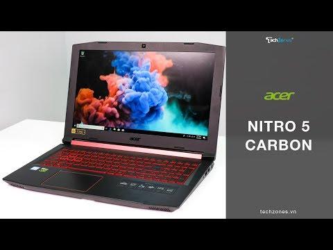 Acer Nitro 5 Carbon - Đẹp, mỏng, nhẹ, cấu hình tốt và hợp túi tiền