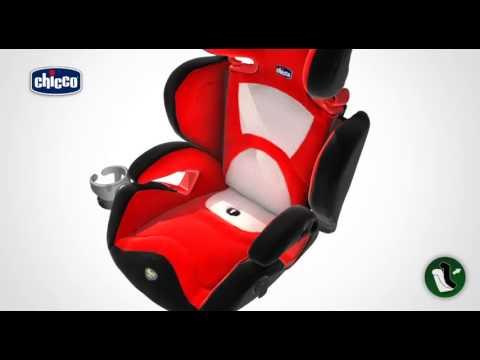 Seggiolino auto Key 2-3 Chicco - Gruppo 2-3 (15 36 kg) - Video Installazione