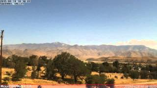 KCASQUIR2 Weather Time Lapse - 20150414