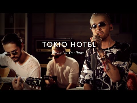 "Tokio Hotel ""Never Let You Down"" At Guitar Center"