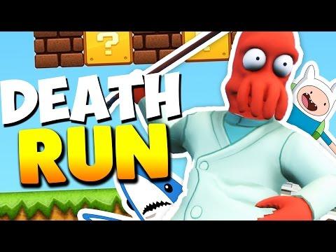 TRAMPAS DE MUERTE | Gmod Deathrun (Momentos Divertidos) (видео)