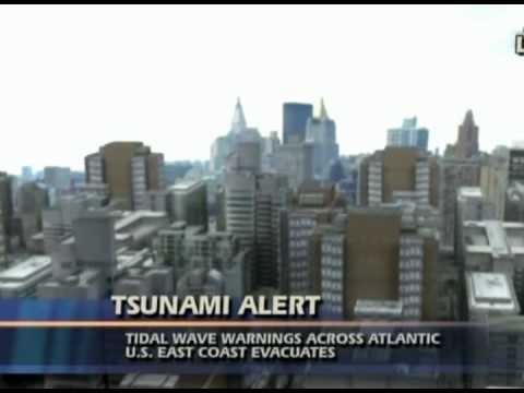 Posible Tsunami generado por el hundimiento de La Palma