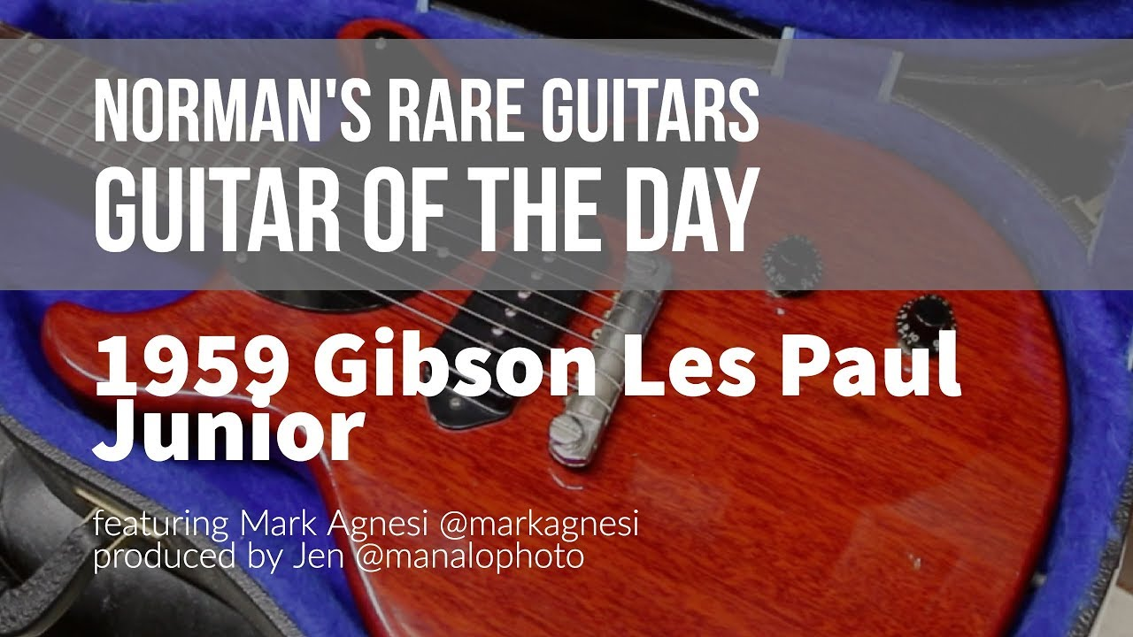 Norman's Rare Guitars – Guitar of the Day: 1959 Gibson Les Paul Junior