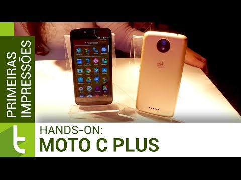 Moto C Plus: hands-on e primeiras impressões  TudoCelular.com
