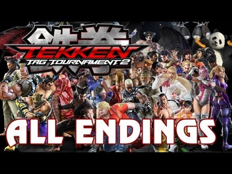 Tekken Tag Tournament 2 - 'All Character Endings' TRUE-HD QUALITY