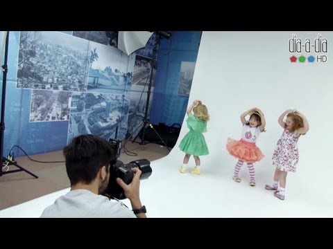 Editorial de moda infantil: confira vídeo da Dia-a-Dia Revista
