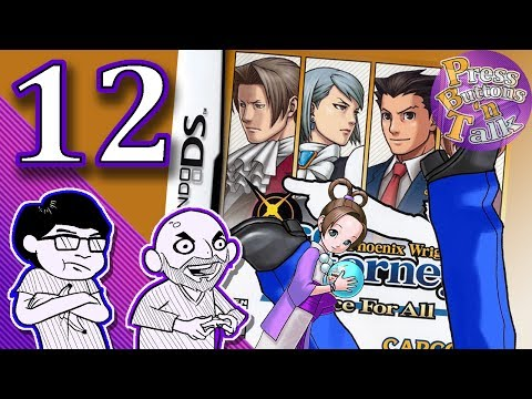 Phoenix Wright: Justice for All, Ep. 12: The Magic Nine - Press Buttons 'n Talk