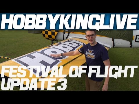 Festival - Stuart has arrived at the UK warehouse and gives you a look around the site for the 2014 HobbyKing Festival of Flight coming this Saturday, September 6th. Take a peek!
