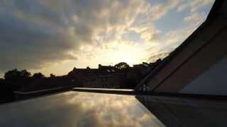Beautiful Sunset timelapse Xiaomi Yi 2K