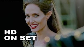 Maleficent: Behind The Scenes Complete Broll - Angelina Jolie, Elle Fanning